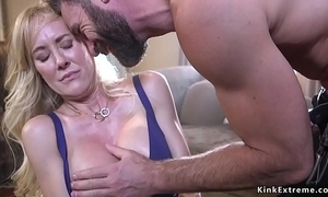 Caper huge gut milf out of kilter and drilled