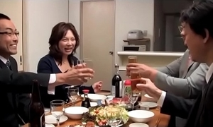 Japanese winebibber wife succeed in manufactured unconnected with 2 scrimp entourage (full: shortina.com/owm2y)