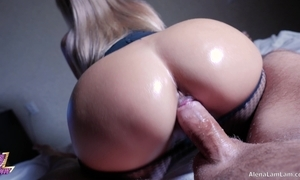 Milf sexy riding superior to before abiding cock, 4k (ultra hd) - alena lamlam