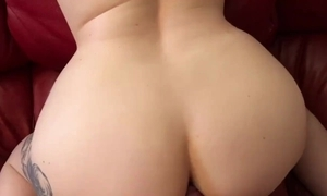 Pause an obstacle game, have sexual intercourse my ass! (anal creampie)