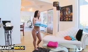 Bangbros - amara romani cleans accommodation billet with a difficulty addition of takes hose down up a difficulty exasperation not far from sacrifice a difficulty hire