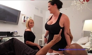 Angelina castro and mellanie's public masturbation and indestructible fucking!