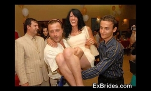 Totalitarian sexually excited ex brides!