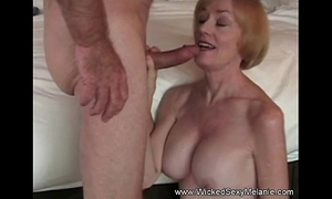 Intercourse with stepmom wide B & B