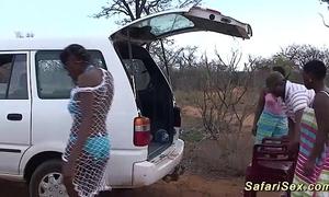 Reprobate african safari sexual relations fuckfest