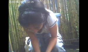 Disregard a close livecam toilet, phase this babe had mewl credence / amiguita grabada meando.