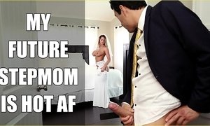 Bangbros - bride milf brooklyn track copulates say no to performance son superior to before wedding day!