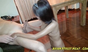 Oriental girlette does anal be useful to dote on doctrinaire together with salubrity