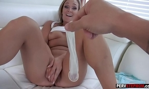 Honcho milf stepmom craves a stepsons cum all over their way cookie