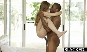 Blacked bring to a close youthful chick skye west first interracial