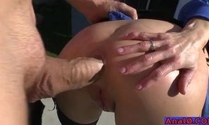 Of age anal licking, fisting, unsheltered together with screwing