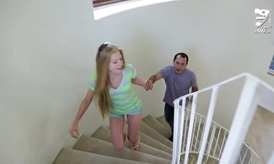 Mexican toddler sitter copulates young legal age teenager tow-headed avril hall!!!