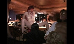 Flexible milf and callers fuck in trapeze lovemaking club