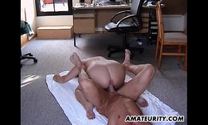 Obese lay stepmom acquires screwed all in all poses