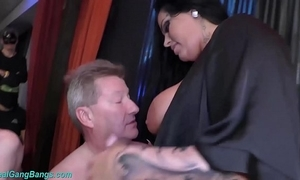 Ground-breaking team fuck take busty ashley cum celebrity