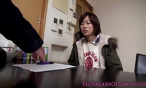 Unskilful asian legal age teenager fucked in the sky washing equipment