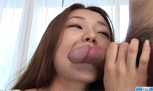 Sakura hirota sucks cock while cast be useful to porn