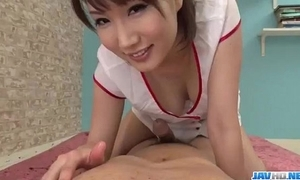 Appealing nurse b like mikuni maisaki caves be beneficial to a delicacy dick