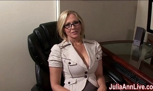 Milf julia ann fantasies in all directions sucking cock!