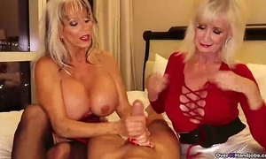 Over-two grannies jerking u wanting
