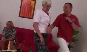 Granny organize line form ranks a mad about - porntube ®