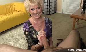 Imported granny splattered everywhere cum