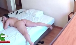 Hidden web camera relating to a motel room. raf303