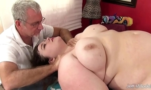 Sexy lucrative sapphire in the best of health acquires a sexual congress palpate