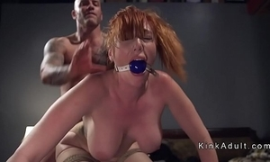 Gagged telling heart of hearts redhead anal fucked