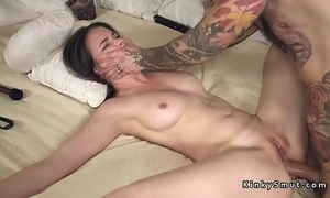 Promised spreded slave anal screwed