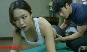 Korean spliced bonks yoga tutor