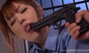Japanese police screwed on touching quod