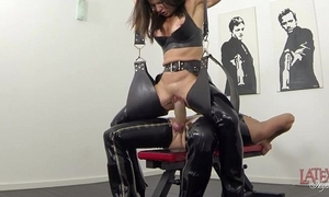 Original squirting added to pissing all over latex