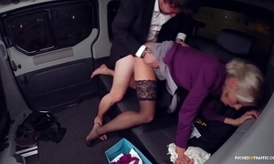 Fucked in commerce - christmas car sex with hot swedish blondie lynna nilsson